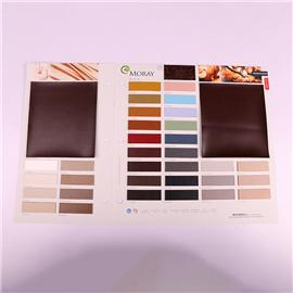 Pu Fabric 81126 Leather Fabric Artificial leather soft coated sand release material