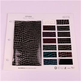 PU mirror fabric cp1825 new turtle pattern retro fabric