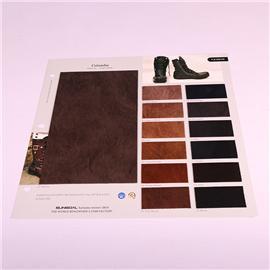 PU布料TA1804纯色纹皮革拉毛底 手套沙发服装箱包面料品质保障