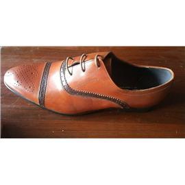 男装鞋,猪皮里,打蜡皮,组合底