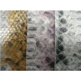广州环冠超纤鞋包用0.8mm厚度幅宽52英寸金蛇3号蛇纹超纤