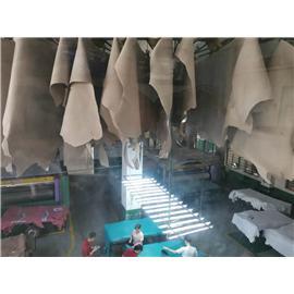 晋江和盛皮革制品工贸公司,专业生产牛头层皮和牛二层反绒皮、牛二层PU皮