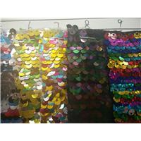 广州金发鞋材鞋包用1250mm幅宽彩色亮片图片