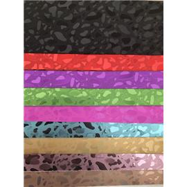 无痕镜面彩虹镭射PU 镭射幻彩点人造革格力特包包装饰手工DIY面料