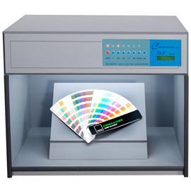 塑料化妆品粉扑多光源对色箱图片