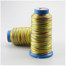 五彩缝纫线 |拉力强耐磨|涤纶邦迪线|走马线
