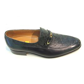 男士黑色尖头皮鞋Dadi-16