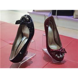 黑色蝴蝶高跟鞋Dadi-21