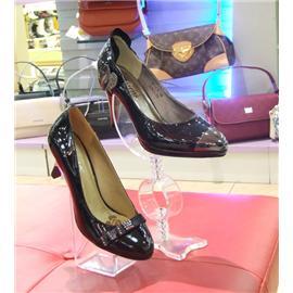 黑色带钻黑皮鞋Dadi-22