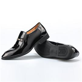黑色牛皮鞋Dadi-30