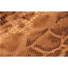 美登皮革鞋箱用西班牙印花漆皮(蛇纹)头层牛皮