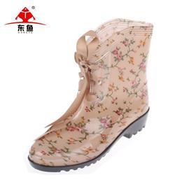 fashion pvc rain boots factory