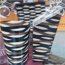 纤亚鞋材 各种不规则花式层皮跟01 层皮 厂家直销 质优价实