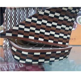 纤亚鞋材 各种不规则花式层皮跟08 层皮 厂家直销 质优价实