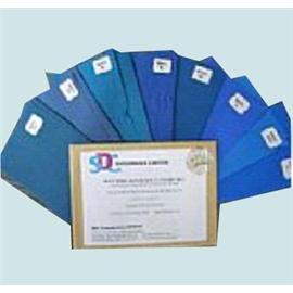 ISO 1~8级蓝色羊毛标准 (耐光色牢度蓝色羊毛标准)