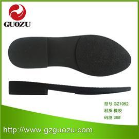 厂家直销 TPR女休闲春秋坡跟鞋底 鞋材料批发 可来样定制GZ1092