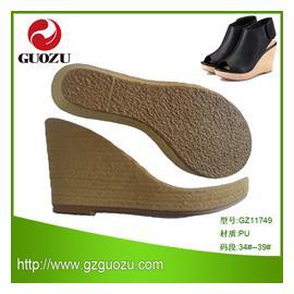 2014热销 PU鞋底GZ11749,耐磨防滑鞋材,可批发、可零售、可来样来图设计