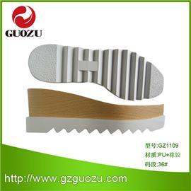 新品鞋底批发 多款式女式橡胶休闲鞋 GZ1109