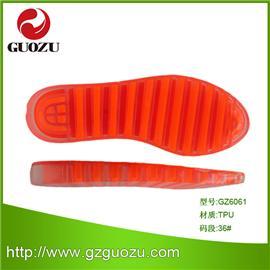 厂家供应女装TPR休闲双色鞋底 质量保证 款式多种 佛山国足鞋材GZ6061