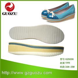 2014年热销 PU鞋底GZ6006,耐磨防滑鞋材,可批发、可零售、可来样来图设计