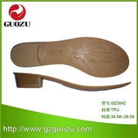 2014年热款女式TPU中跟牛筋色鞋底 耐磨防滑 厂家直销欢迎选购GZ3042