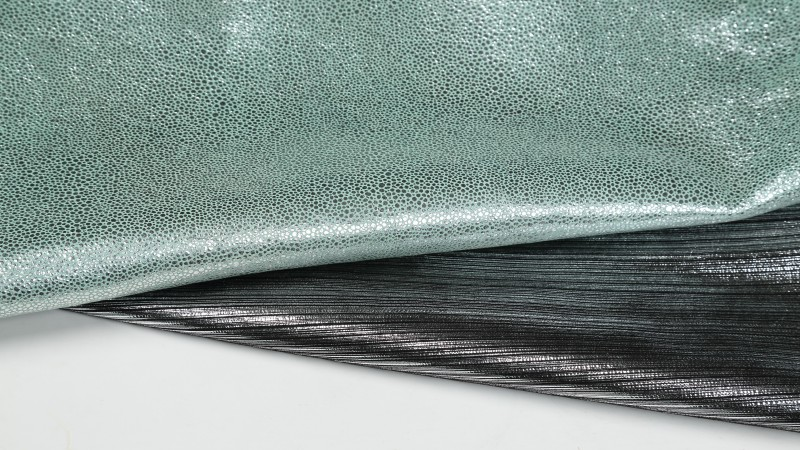 Laminated cowhide leather meant for footwear