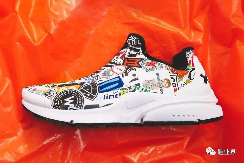 全球只有一双,鞋上汇集了 Nike 从 1964 年至今的所有 Logo!