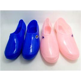 加厚纯色女式胶鞋 劳保鞋 厨房鞋 建筑工鞋 工作鞋 防水雨鞋
