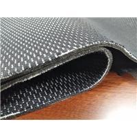 功能性鸟眼布+泡棉+防水透湿PTFE膜+黑加密TC  功能性防水鞋材内里面料图片