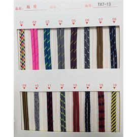 TX7-13各类鞋带,织带,松紧带,中空带,马靴松紧带  厂家直销
