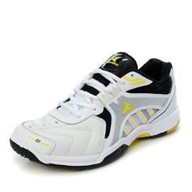 Suntech新款正品羽毛球鞋真皮防滑耐磨轻盈透气运动男鞋女鞋