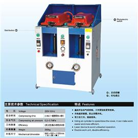 气动双工位盖式压合机 恒丰XQYH-2005-2气动双工位盖式压合机