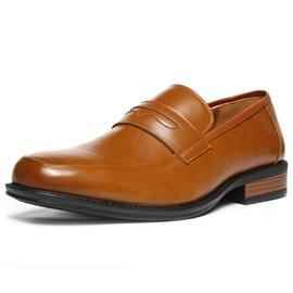 皮鞋-MB2005-Tan