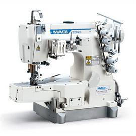 MAQI美機工業縫紉機高速小方頭式繃縫機LS32026-01CB單頭