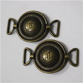 O系列供應高檔合金鞋扣 箱包五金配件 金屬圓圈扣 合金口子扣 梯形方扣 規格齊全