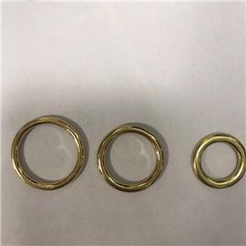 K系列供应高档合金鞋扣 箱包五金配件 金属圆圈扣 合金口子扣 梯形方扣 规格齐全