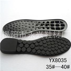 【新款TPU鞋底】鞋材廠家直銷批發TPU豆豆按摩鞋底,坡跟女鞋底