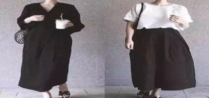 黑白世界的极简风格穿搭,原来可以如此时髦!