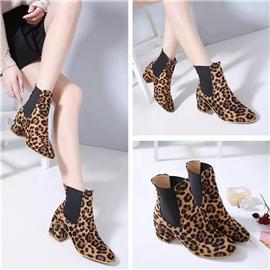 兴企鞋材鞋包服用0.6mm豹纹布料