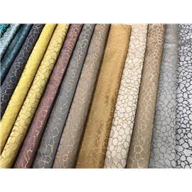 时尚蕾丝网布2020-16 石头纹 |烫金压胶布 |莱卡布