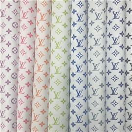 新品推荐220-8 LV时尚印花系列 鞋面布厂家直销高质量蕾丝网布