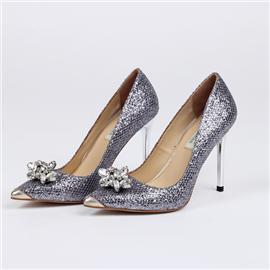 正装女鞋GG001 绿蝈儿  正装女式高跟鞋