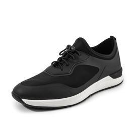 2018男士新款上市时尚休闲运动鞋  黑色百搭男鞋