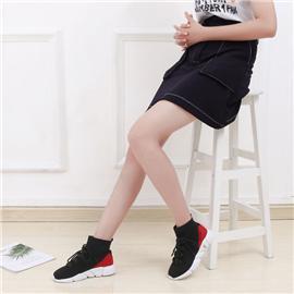 2018新款上市时尚休闲运动鞋 黑色百搭女鞋