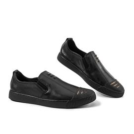 2018新款上市男士时尚休闲运动鞋  黑色百搭男鞋