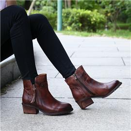 复古鞋 简约之风轻松驾驭任何场合 头层牛皮