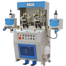 NSZ-3204 TOE CAP MOULDING MACHINE|back heel shaping machine|shoe factory shaping equipment