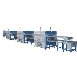 NSZ-2302 MSD TWO LAYER/THREE LAYER STOCKLET LINE|assembly line|Shoe machine equipment