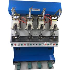 NSZ-3116 BACK PART MOULDING MACHINE WITH AIR BAG|back heel shaping machine|shoe factory shaping