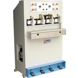 NSZ-3403 SHOE THROAT REFORMING MACHINE |back heel shaping machine|shoe factory shaping equipment